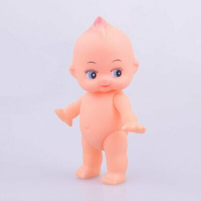 Soft rubber doll bath baby rotatable head and limbs bY