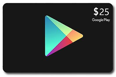 $25 Google Play Gift Card (USA)