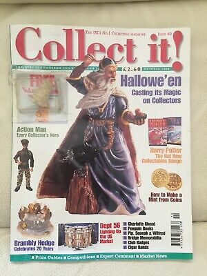 Collect  It !  Magazine  Issue 40 October 2000 - With Free Wade Whimsie