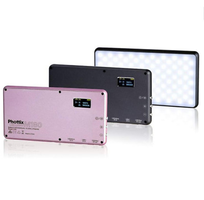 Phottix M180 LED Light & Powerbank (4400mAh) - Black