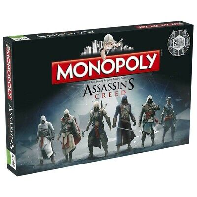 ASSASSINS CREED - COLLECTORS EDITION  -  MONOPOLY BOARD GAME  New/Sealed