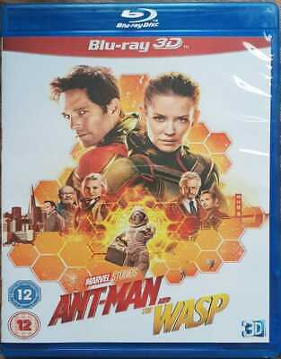 Ant-Man and the Wasp 3D BLU RAY