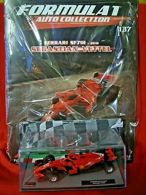 1/43 Ferrari SF71H Sebastian Vettel #5 2018 + N 137 Formula 1 Auto Collection F1