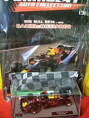 1/43 Red Bull RB14 Daniel Ricciardo #3 2018 +N 131 Formula 1 Auto Collection F 1