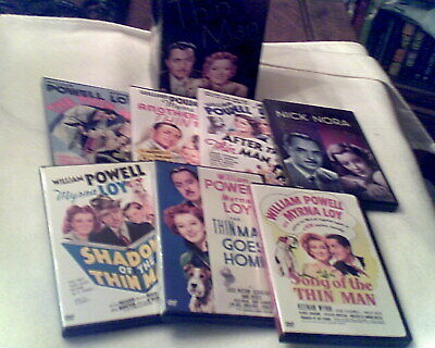 The Complete Thin Man Collection (DVD 7-Disc Box Set) William Powell, Myrna Loy