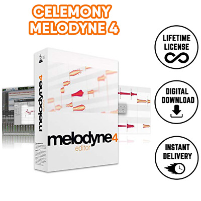 Celemony Melodyne Studio 4.2.1 VST STANDALONE | Full Version | Instant Delivery