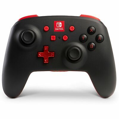PowerA Enhanced Wireless Controller for Nintendo Switch - Black/Red (1507507-01™