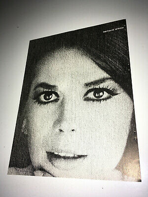 NATALIE WOOD Vintage Movie Trade Ad 1966 Hollywood Actress Star Poster