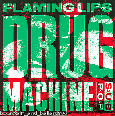 "Flaming Lips Drug Machine 7"" Sub Pop Singles Club RARE and OOP"