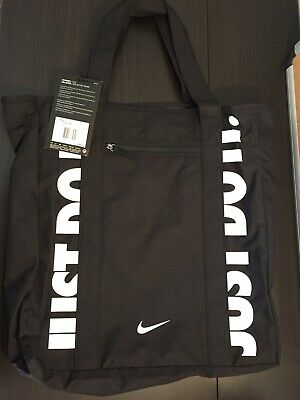 NIKE Radiate Training Tote Gym Bag Black NWT