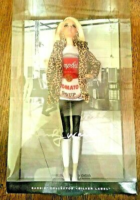 Andy Warhol Campbell's Soup Barbie Doll #2, DKN04, 2016, New/MINT
