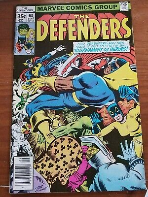 The Defenders #63 VF+