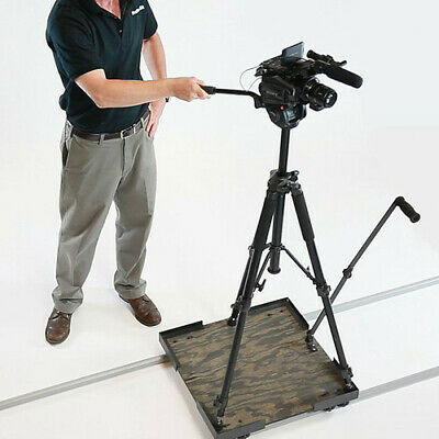 ProAm USA SolidTrax Universal Platform Dolly - Video and Cinema slow motion
