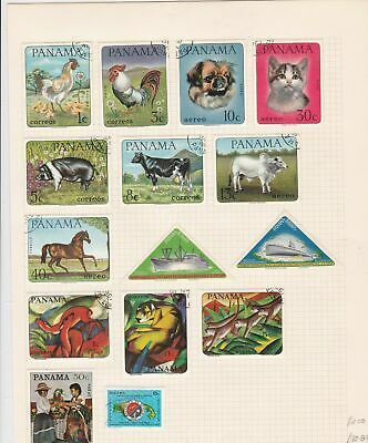 panama stamps page ref 17164
