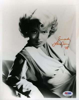 Movies Lana Turner The Postman Always Rings Twice Autograph Hand Signed Sc Autographs-original