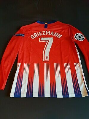 info for 79ebd ae5ca MAILLOT ATLETICO MADRID 2016 GRIEZMANN n°7 NIKE camiseta ...