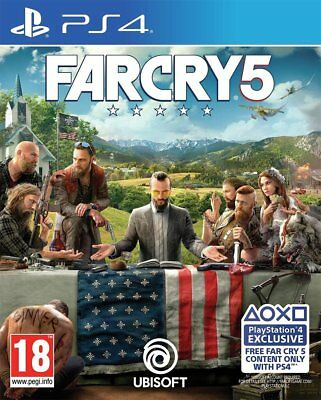 Far Cry 5 (PS4) BRAND NEW AND SEALED - IN STOCK - QUICK DISPATCH
