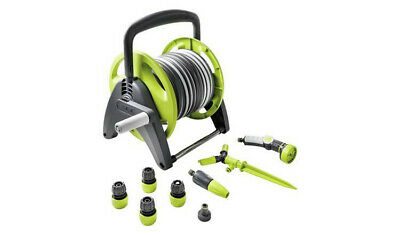 GF Compact Hose Reel with Accessories - 25m