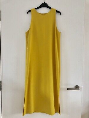 Yellow MARKS & SPENCER M&S AUTOGRAPH Midi - Maxi Dress *Size 10* RRP £60