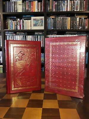 A GAME OF THRONES - Deluxe U.K. Leatherbound Ed. - SIGNED by George R R Martin