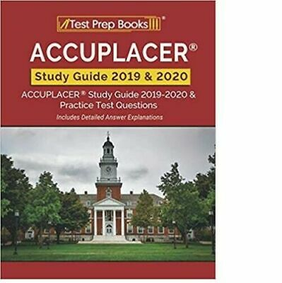 ACCUPLACER Study Guide 2019 & 2020 (Paperback, May 10, 2019)