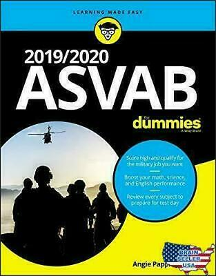 2019/2020 ASVAB For Dummies by Angie Papple Johnston Paperback 1 edition