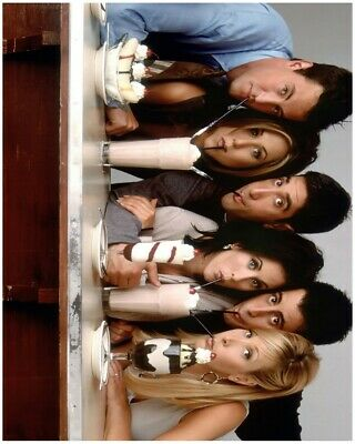 Friends A4 Poster Central Perk Tv Show Aniston Cox Perry