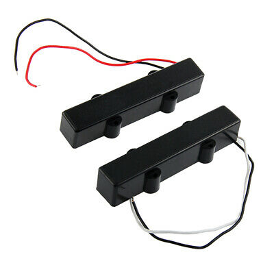 2PCS 5 String Humbucker Neck E-Bass Gitarren Pickup für für JB Bass