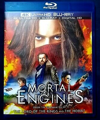 Mortal Engines Ultra HD+ BLU RAY+Digital HD 2D disk