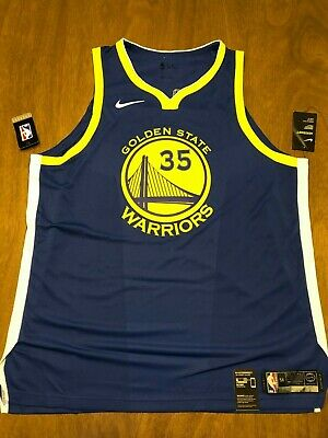 acab8edb8 Kevin Durant Golden State Warriors Authentic Nike Jersey Men s size 56 xxl