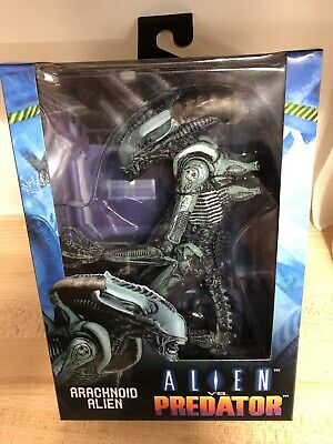 Alien vs. Predator Arachnoid Alien Arcade versions NECA