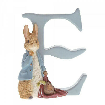 Beatrix Potter Alphabet Letter E Peter Rabbit Onions Figurine Border Fine Arts