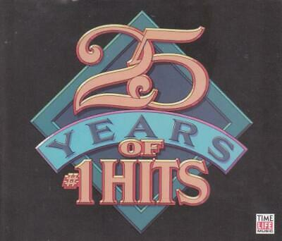 Time Life: 25 Years Of #1 Hits MUSIC AUDIO CD classic rock songs pop old 4 CDs