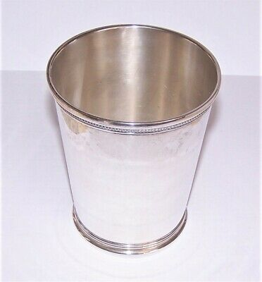 1946 Sterling Silver Mint Julep Cup Jaccard Replica of 1850 No Monogram