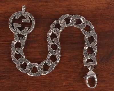Real 925 Silver Bracelet Handmade Limited Edition Custom Made Private Collec