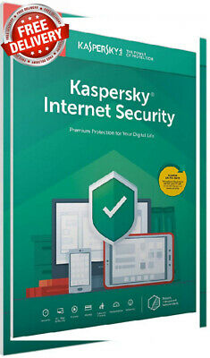Kaspersky Internet Security 2019 | 3 Devices | 1 Year | PC/Mac/Android |...