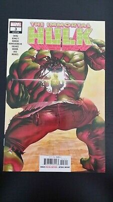 2018 Marvel Comics The Immortal Hulk #3 2Nd App Dr Fate Nm Flat Rate Shipping