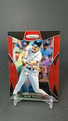 2019 Panini Prizm Wade Boggs #204 Tier Iii Red Sp Red Sox