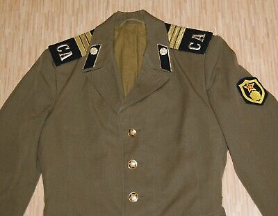 Tunic Russian Soviet Red Army Soldier's Jacket combat Military Uniform USSR S-48