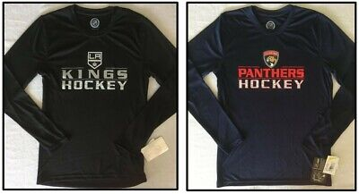 low priced 4240e 4d717 Florida Panthers, Los Angeles Kings Hockey Youth Long Sleeve T-Shirt Large  14