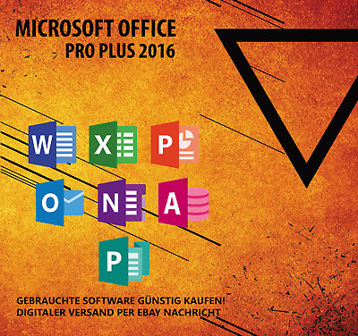 Microsoft Office 2016 Professional Plus / MS Office Pro Plus Vollversion