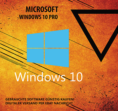 Windows 10 Professional 32/64 Bit Vollversion- Win 10 Pro Version