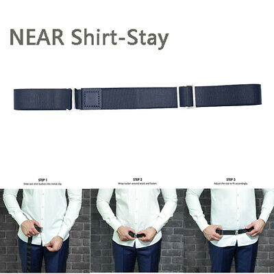 The World's Best Shirt Stays by Adjustable Near Shirt-Stay Plus Tuck-It Belt NEW