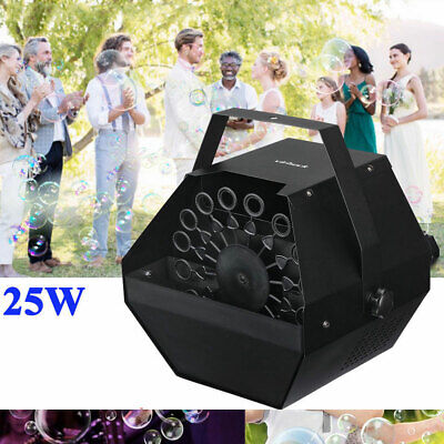 25W Automatic Mini Electric Bubble Machine Maker High Output Blower Party Stage
