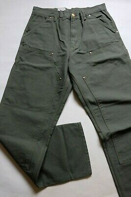 JEANS CARHARTT DOUBLE KNEE PANT (leaf rinsed) W32 L34  (i020187 266)