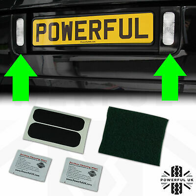 Reverse light modification template vinyl sticker kit for Range Rover L322 Vogue
