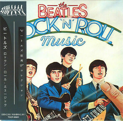 BEATLES - ROCK'N'ROLL MUSIC ( MINI LP AUDIO CD with OBI and Booklet ) FREE SHIPP