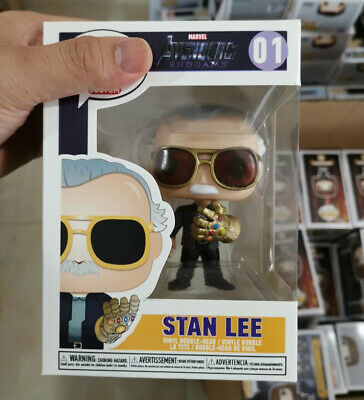 Infinity Pop Stan Lee Gauntlet Avengers Funko Exclusive End Game Free shipping