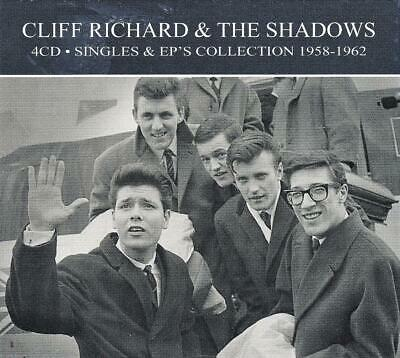Cliff Richard & The Shadows - Singles & Ep`s Collection 1958-62 (New Sealed 4Cd)