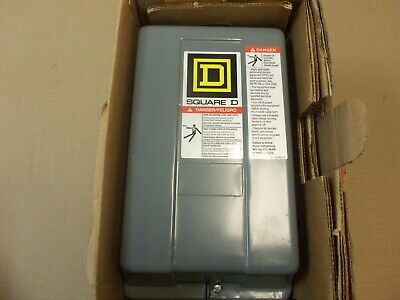 NEW Square D ELECTRIC MAGNETIC CONTACTOR 8502SAG12V02S 120VAC